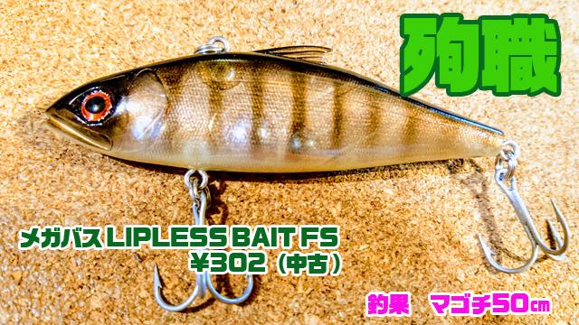メガバス-LIPLESS-BAIT-FS